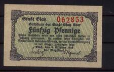 [15758] - Notgeld Glatz (hoy: Kłodzko), ciudad, 50 PF, 09.12.1918, Tieste 2255.