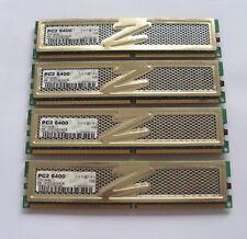 8GB (4 X 2 GB MATCHED PAIRS) OCZ GOLD SERIES  DDR2-800 PC2-6400 RAM