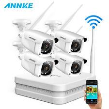 ANNKE WLAN FHD 1080P CCTV Camera Wireless 8CH NVR Home Surveillance System IP66