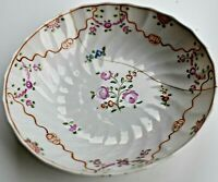 Antique New Hall 19th Century Hand painted Saucer Floral 13cm wide c.1810