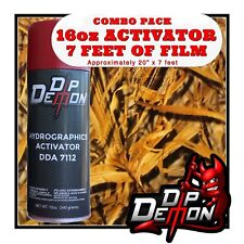 16oz Hydrographic Film Activator Wings Camo Hydro Dip Dipping Wizard
