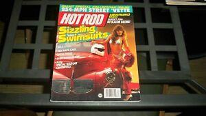 HOT ROD MAGAZINE APRIL 1989  SIZZLING SWIMSUITS