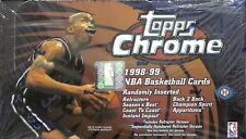 1998-99 Topps Chrome Basketball Sealed Hobby Box