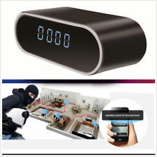 WiFi Spy Alarm Clock Night Security Hidden Camera DVR Motion Detection HD 1080P