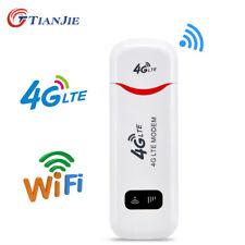 Unlocked 4G LTE WIFI Wireless Router USB Dongle Mobile Broadband Modem Sim Card