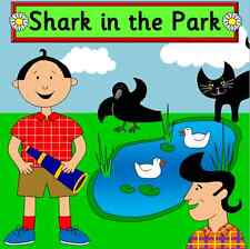 SHARK IN THE PARK -teaching story resource CD - EYFS / KS1 for story sack