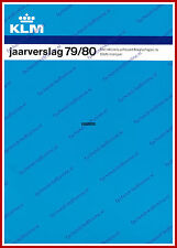 ANNUAL REPORT - KLM ROYAL DUTCH AIRLINES 1979-1980 - DUTCH