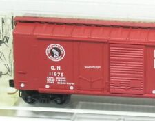 N Standard Steel Box Car Great Northern Micro-Trains 22020 NEU OVP