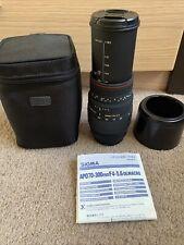 Sigma 70-300mm f/4-5.6 DG APO Macro Zoom Lens