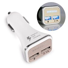 fast 2.1 Car Charger Dual Port Adapter for Samsung Galaxy