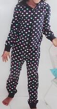 Kinder Jumpsuit mit Kapuze Schlafanzug Pijama  gr 122/128