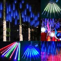 8 Meteor Shower LED Light Falling Rain Drop/Icicle Snow Xmas Tree String Lamp
