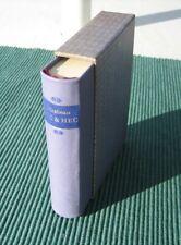 Miniature Book, Leather: Hic & Hec by Comte de Mirabeau, German language