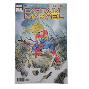 Captain Marvel The End One Shot Cover B Variant Peach Momoko Cover 2020