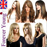 Ladies Wig Long Blonde Full Wig Wavy Straight Fashion Wig Forever Young UK