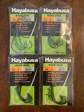 Hayabusa 2/0 Worm Hook 4 Packs