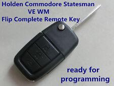 Holden Commodore Statesman Ve Omega Berlina Calais WM Flip Complete Remote Key