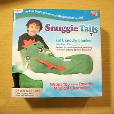 Snuggie Tails Green Dragon Cuddly Kids Blanket Christmas Gift Super Soft Cozy