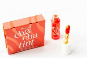 Benefit Cha Cha Tint Mango Cheek And Lip Stain (travel size, brand new in box)
