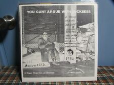 You Cant Argue With Sucksess - Mystic Records Doug Moody Signed Test Press Punk
