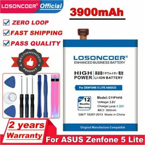 LOSONCOER 3900mAh C11P1410 Battery For ASUS Zenfone 5 Lite A502CG Mobile Phone