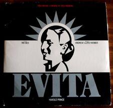 Vintage Evita LP 1979 Set of 2 Records Lyric Sheet Patti Lupone Mandy Patinkin
