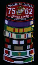 VIETNAM IRAQ OEF U CHOOSE 1 RIBBON HAT PATCH US ARMY MARINES NAVY AIR FORCE USCG