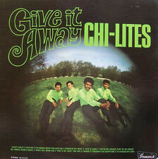 The Chi-Lites GIVE IT AWAY Brunswick Records NEW SEALED VINYL RECORD LP