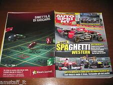 AUTOSPRINT 2011/35=GP F1 BELGIO=VETTEL=NOVITA' PORSCHE 911=PUBBLICITA' SISAL=