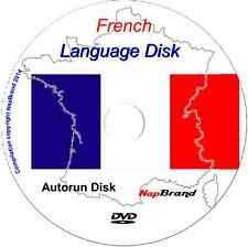 French Language Course Holiday or Business use DVD mp3 audio & text