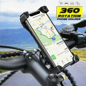 Motorcycle Bike Bicycle Handlebar Mount Holder Case Stand For iPhone iPad GPS AU