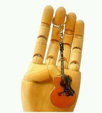 """Gibson Acoustic""- Portachiavi acciaio - Steel keychain - Acero Llavero"