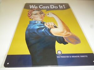 metal wall sign - we can do it  - great for retro home bar mancave etc