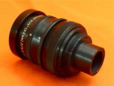 "WOLLENSAK RAPTAR 2-1/2"" (63mm) f;2.5 TELEPHOTO LENS COATED  EXCELLENT CONDITION"