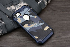 Military Camouflage Camo Defender Armor Case For iPhone 4s 5 5S SE 6 6S 7 Plus