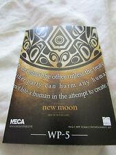 Twilight New Moon Neca Trading Card WP-5 Robert Pattinson , Kristen Stewart