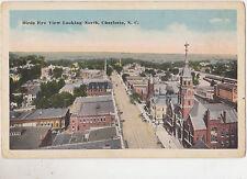 Charlotte,No. Carolina,Bird's Eye View Looking North,c.1918-30s