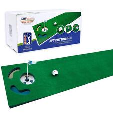 PGA Tour 6ft Putting Mat with Guide Ball