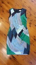 COUNTRY ROAD cocktail dress, Size 14 Stunning greens