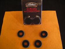 "Mathews Black Custom 3/8"" Lite Damping Accessories - (4) Total Dampers !!!"