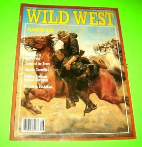 WILD WEST Magazine  Premiere Issue! June 1988 vintage collector's item