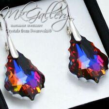 Pendientes de plata 925 * volcán * Cristales de Swarovski ® Barroco
