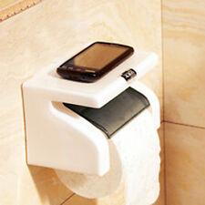 Support Porte Téléphone Portable Porte Papier Toilette Rouleau Bains Toilette WC