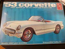 Vintage AMT '53 Corvette Model Kit T310