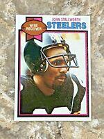 1979 Topps John Stallworth #450 Pittsburgh Steelers HOF NFL Football Card