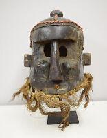 Mask African Helmet Kuba Binji Helmet Mask
