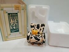 """Cow� chair Take A Seat By Raine Miniature Doll House 2000 Nib"