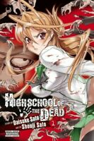 Highschool of the Dead, Vol. 1 [New Book] Graphic Novel, Paperback