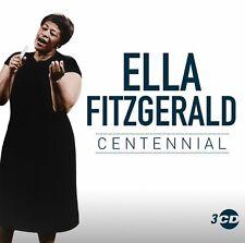 ELLA FITZGERALD - CENTENNIAL - New 3CD Album - Released 24/05/2019