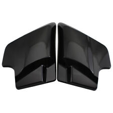 2x Vivid Black ABS Side Cover Panels for Harley Touring Electra Road Glide 09-18